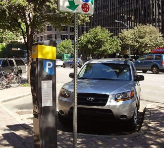 Pay-to-Park Station in Austin, TX