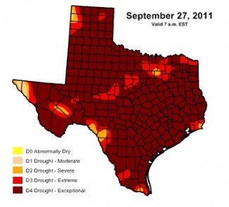 Texas Drought Forecast To Extend Into 2012 Houston Tomorrow